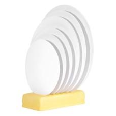 13124 DISC ALB PENTRU TORT DIN CARTON PLASTIFICAT D20cm