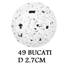 331042 SFERE DE CIOCOLATA BLACK PEPPER 49 BUCATI D 2.7CM 0.25KG Barbara Decor