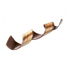 33238 Spirale de ciocolata neagra aurii 0.142 kg Barbara Decor