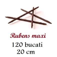 334510 RUBENS MAXI CREIOANE CIOCOLATA NEAGRA 20CM 0,9KG 120BUCATI Barbara Decor