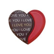 33899 Inimi de ciocolata 3D I love you 240 bucati 3.4cm 720g Barbara Decor