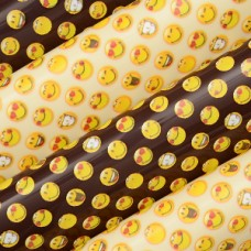 40551 Folie de transfer pe ciocolata cu Smiley faces 40x30cm Modecor