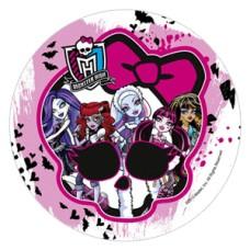 41026D Disc de zahar Monster High d22cm Modecor
