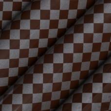 81332 Folie de transfer pe ciocolata patrate argintii Modecor 40x30cm