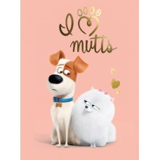 A4Max9 Vafa The secret life of pets Singuri acasa 30X20cm