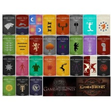 A4f79 Vafa Game of Thrones 30x20cm