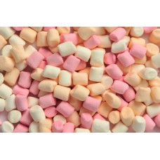 MINI MARSHMALLOW COLORATE 500G