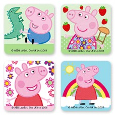 71046 PATRATELE ZAHAR PEPA PIG MODECOR