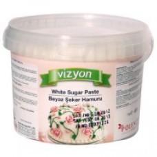 Pasta de zahar icing alb Vizyon 6kg Polen Food