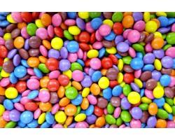 Bomboane Lentile de ciocolata culori asortate Steensma 250g
