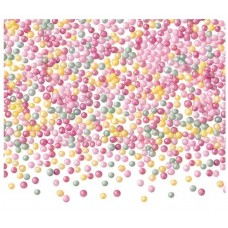 MINI BOMBONELE PAREILS MULTICOLORE SHINY COLOURED PEARLS BARBARA DECOR 100 GRAME