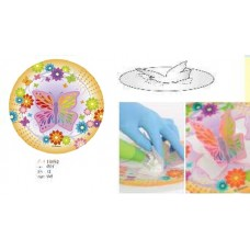 13052 Disc vafa Pop-Up Fluture cu efect 3D Modecor D21cm