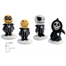 17092S SET 4 FIGURINE MONSTRI DE HALLOWEEN DIN ZAHAR 4MODELE MODECOR
