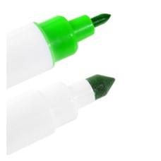 23122L Carioca verde culoare alimentara marker cu 2 varfuri Modecor