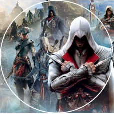 26142dA Disc vafa Assasin Creed d14.5cm