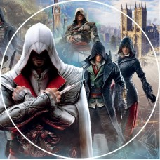 26142dB Vafa rotunda Assasin Creed d14.5cm