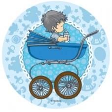 26196C Disc din zahar bebelus bleo diametrul cca 21cm Modecor