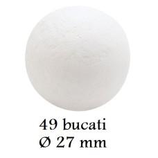 331035 SFERE DE CIOCOLATA MOON LUNA GRI 49 bucati d 2.7cm 250grame Barbara Decor