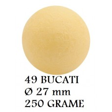331039 SFERE CIOCOLATA PLUTO GALBENE 49 BUCATI D2.7CM 250 G Barbara Decor