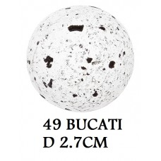 331042 SFERE DE CIOCOLATA BLACK PEPPER 49 BUCATI D 2.7CM 0.25KG Barbara Decor