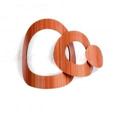 34802ID Set cercuri cubate de ciocolata, 96 de bucati, Modecor