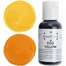 106 COLORANT ALIMENTAR GEL GALBEN EGG YELLOW AMERICOLOR 21G