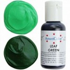 111 COLORANT ALIMENTAR SOFT GEL VERDE LEAF GREEN AMERICOLOR 21G