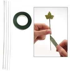 Banda verde pentru sarmele de flori