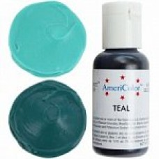 110 COLORANT ALIMENTAR VERDE TEAL SOFTGEL AMERICOLOR 21g